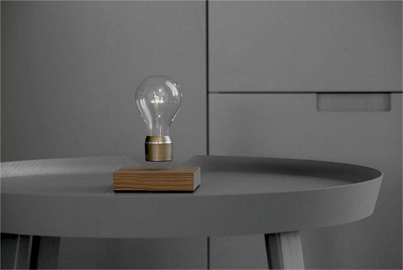 flyte tafellamp zwevend lampje
