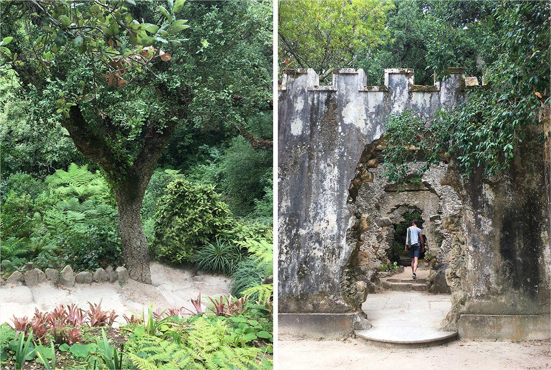 portugal sintra park montserrate
