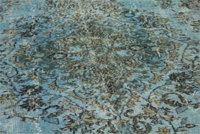 vintage perzisch tapijt blauw